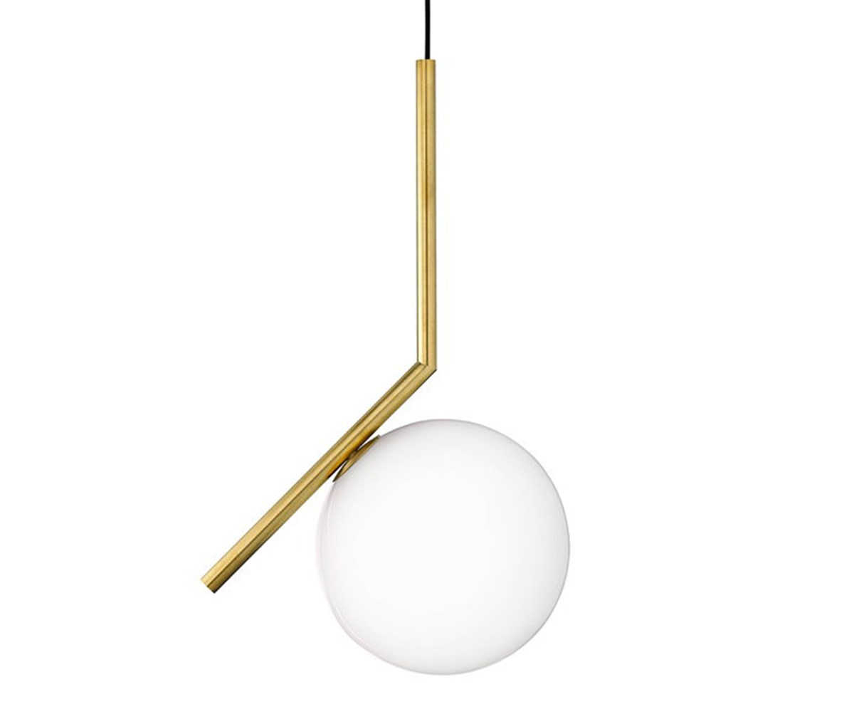 Flos IC Lights S1 -riippuvalaisin messinki, K 47 x ø 20 cm