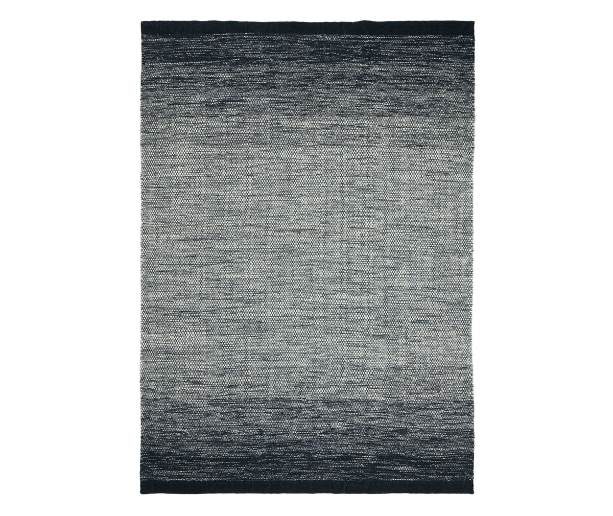 Linie Design Lule-matto black, 170 x 240 cm