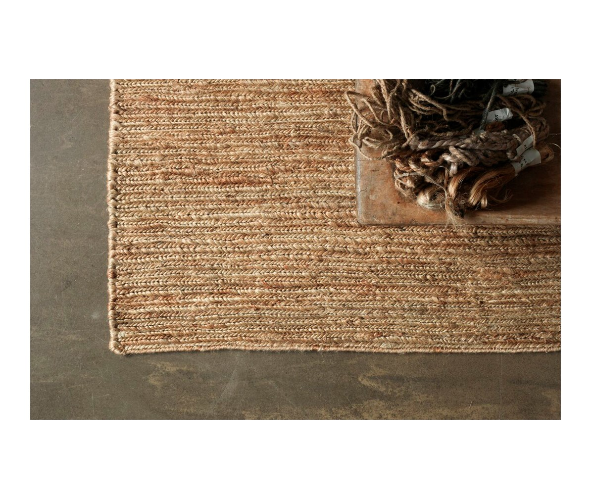 Braid Hemp vaip 200 x 300 cm, naturaalne