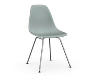 Eames DSX -tuoli, light grey/kromi