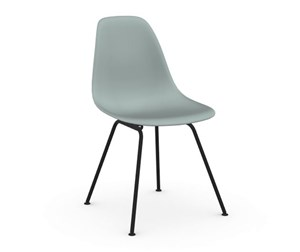 Eames DSX -tuoli, light grey/musta