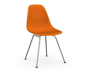 Eames DSX -tuoli, rusty orange/kromi