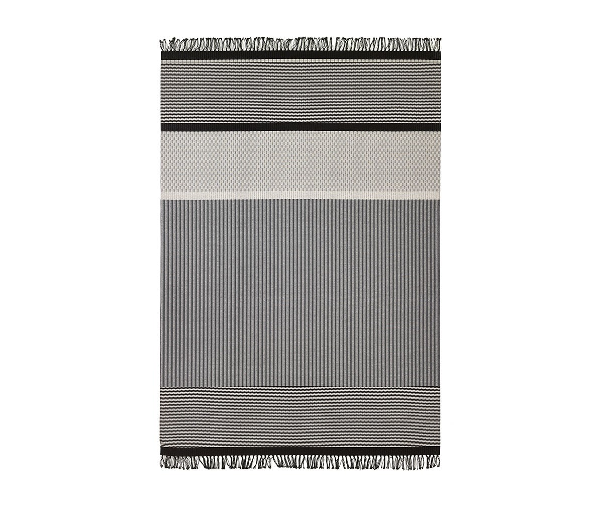 Woodnotes San Francisco -matto Light Grey-Stone, 170 x 240 cm