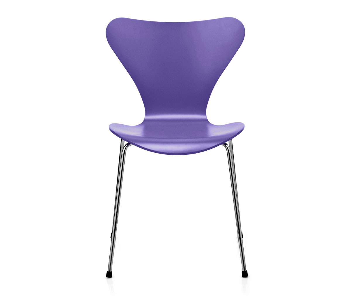 seiska tuoli 3107 peittomaalattu violetti kromi veps l inen. Black Bedroom Furniture Sets. Home Design Ideas