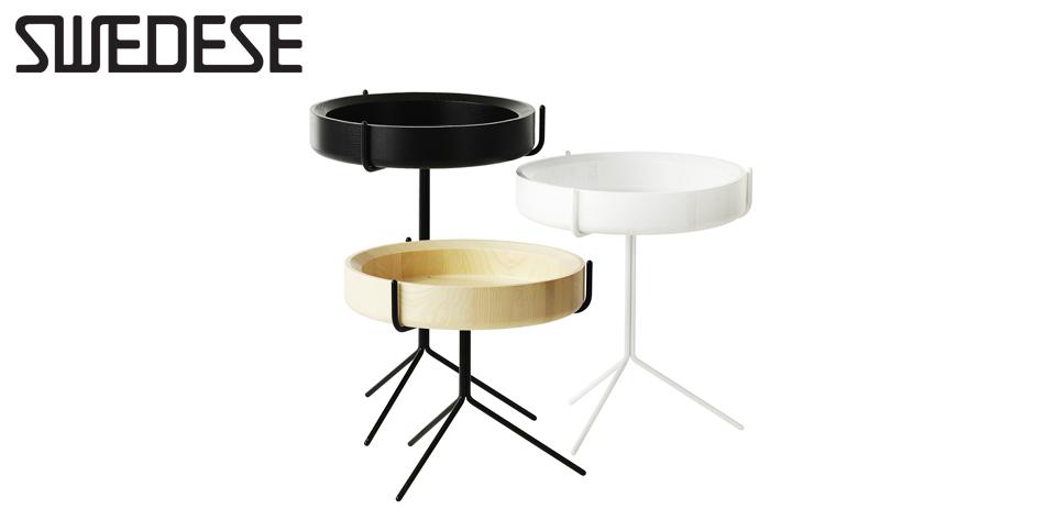 Drum pöytä Musta K36 cm Vepsäläinen